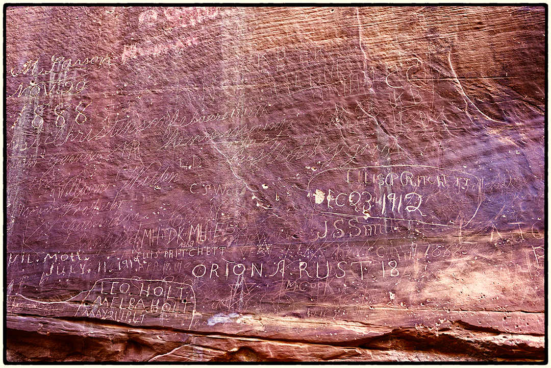 One Hundred Year Old Graffiti