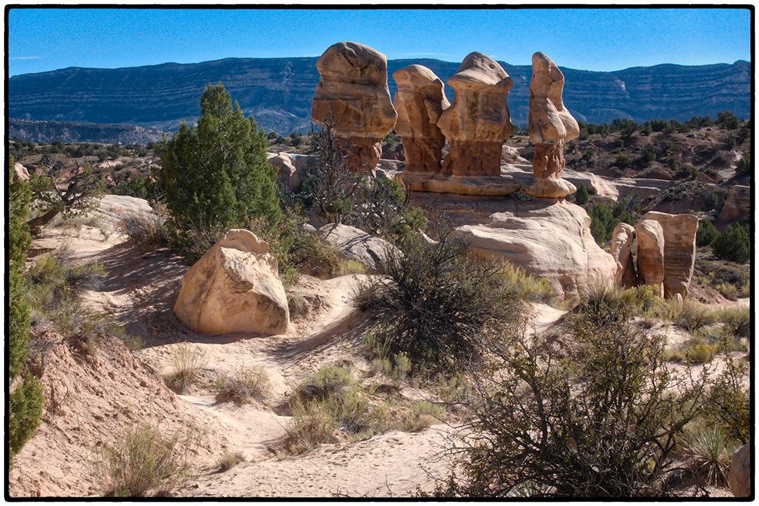 Hoodoos in Devil's Garden, Escalante National Monument, Utah