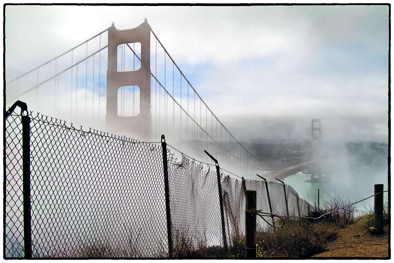 Fence, Bridge, 2003