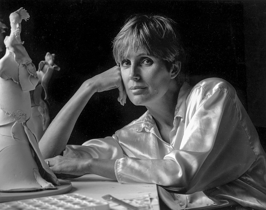 Linda Kammer, sculptor, painter