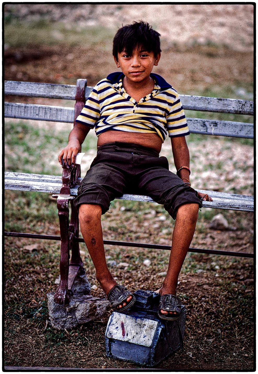 Shoeshine Boy, Mexico 1994