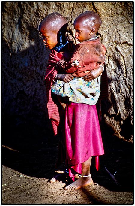 Maasai Children, Tanzania 2002