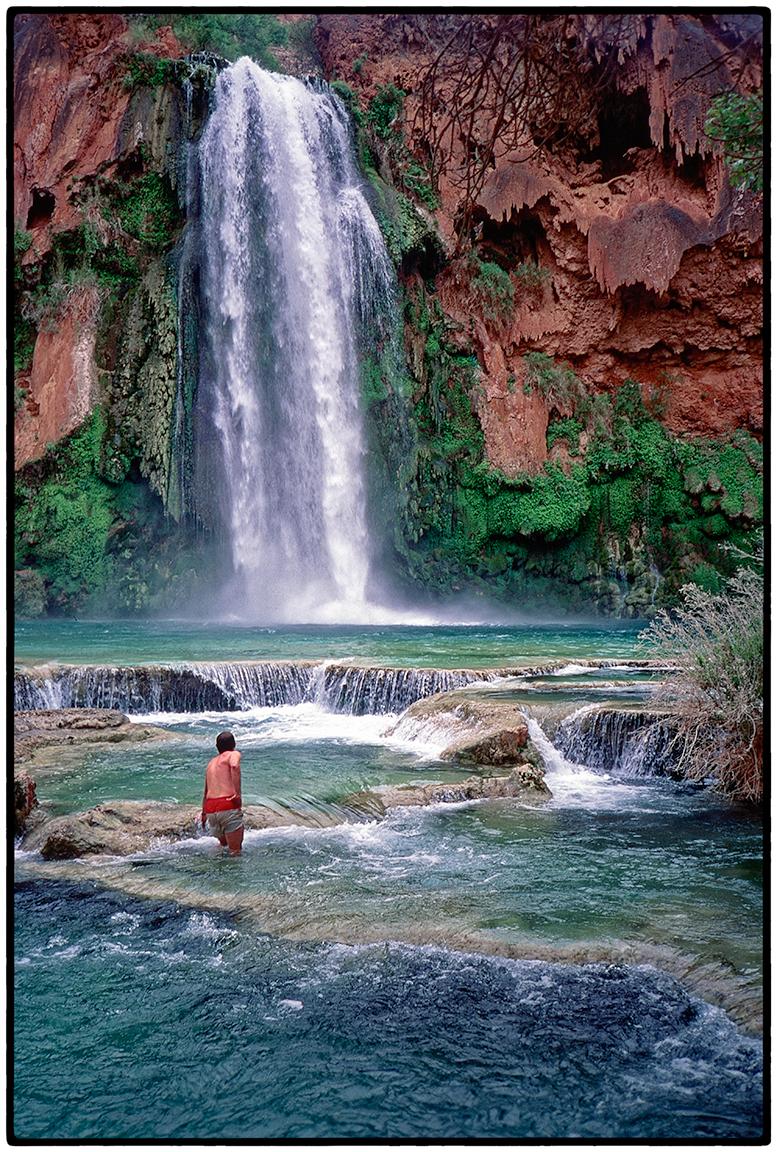 Havasu Falls, AZ, 1998