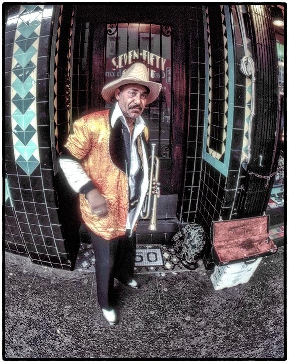 Street Musician, San Francisco, 1968