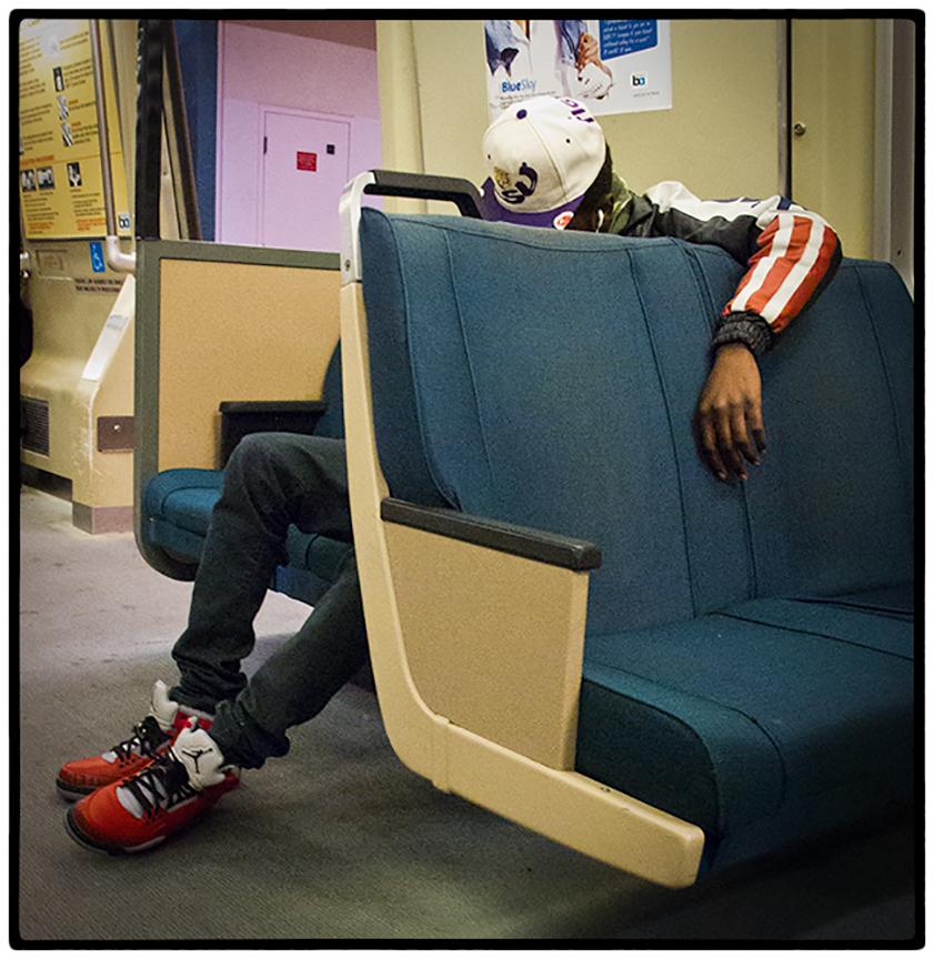 Sleeping on the longer rides