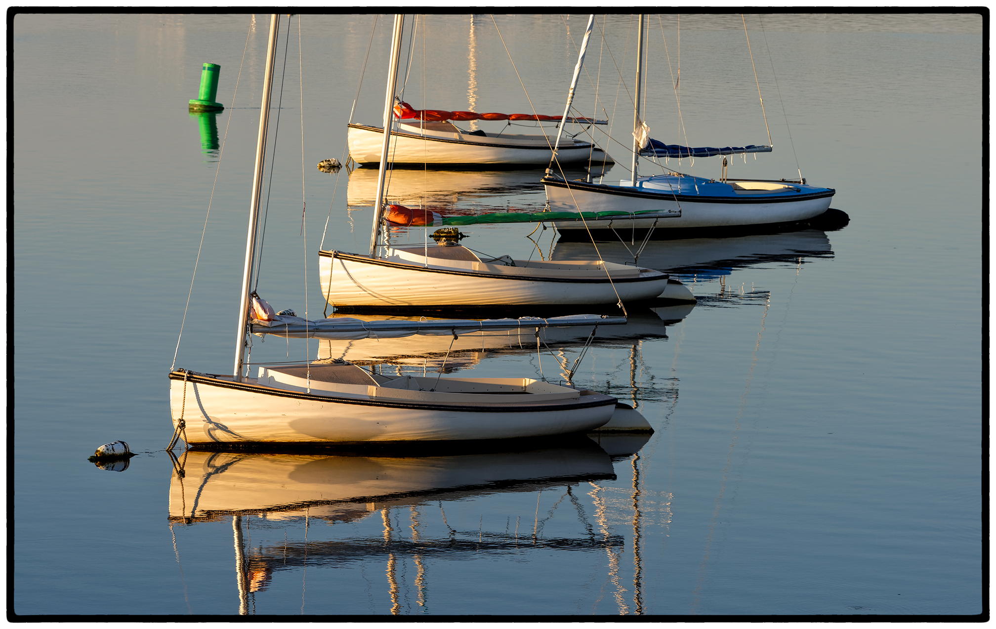Sunrise, Wellfleet harbor.