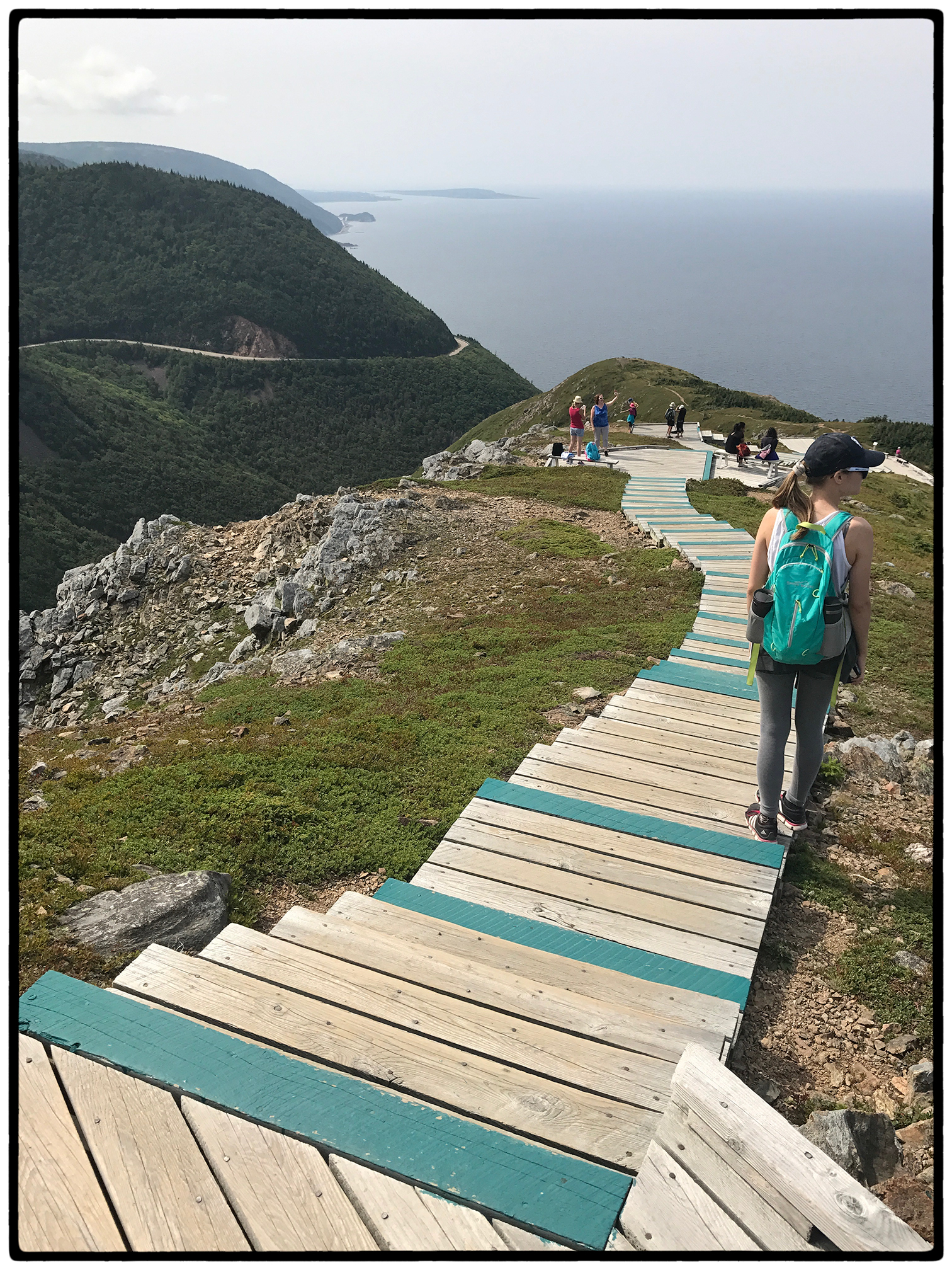 Final destination at Cape Breton Island hike