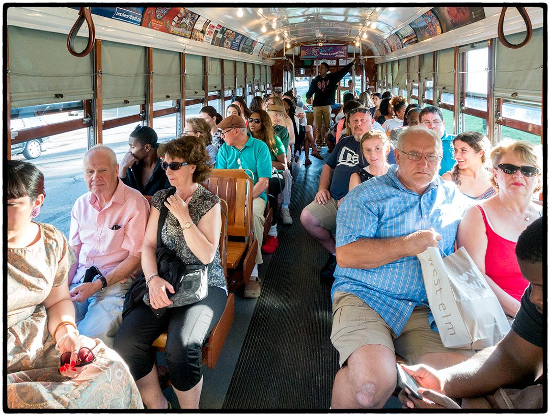 Passengers, St. Charles Streetcar