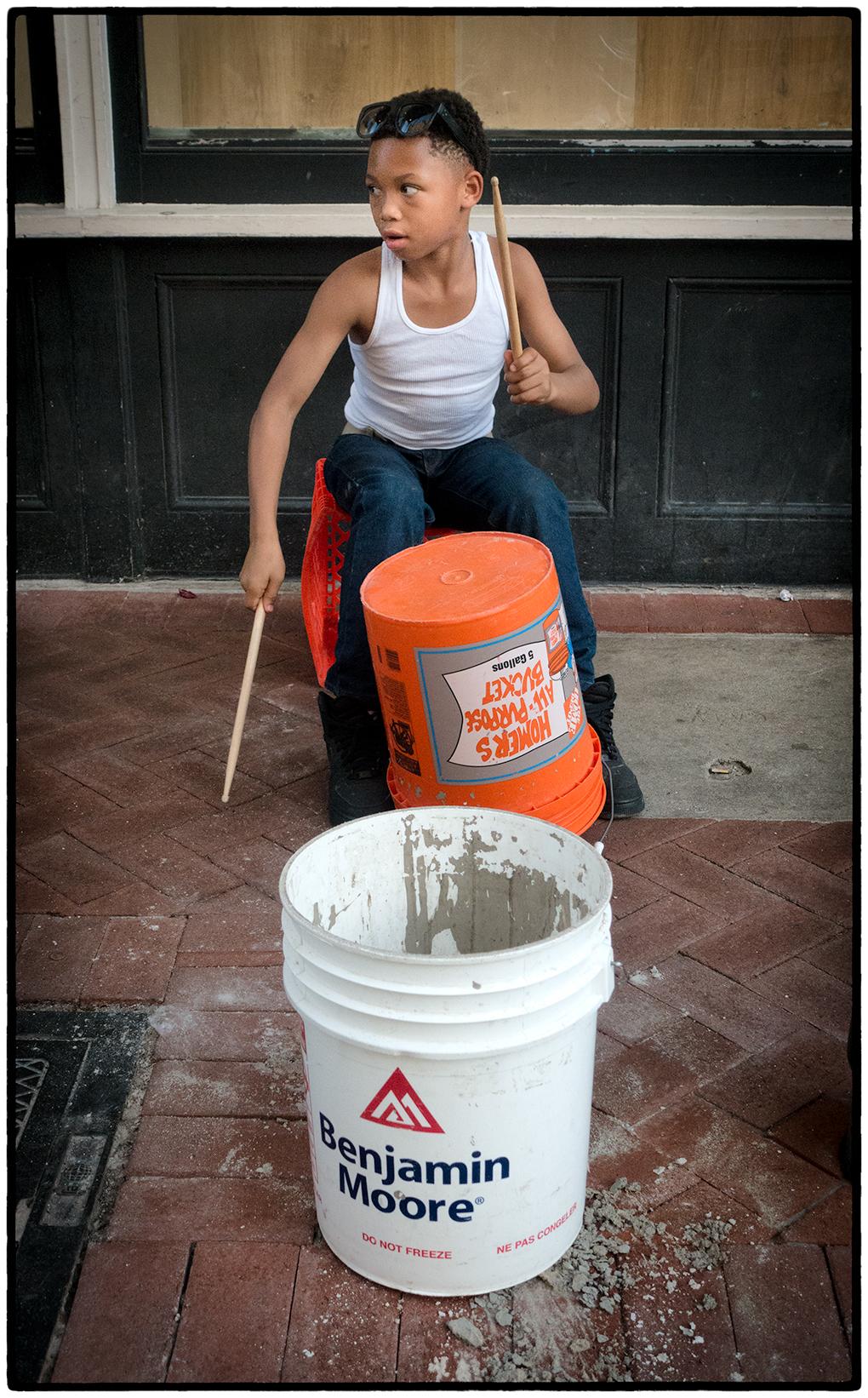 Drummer, French Quarter