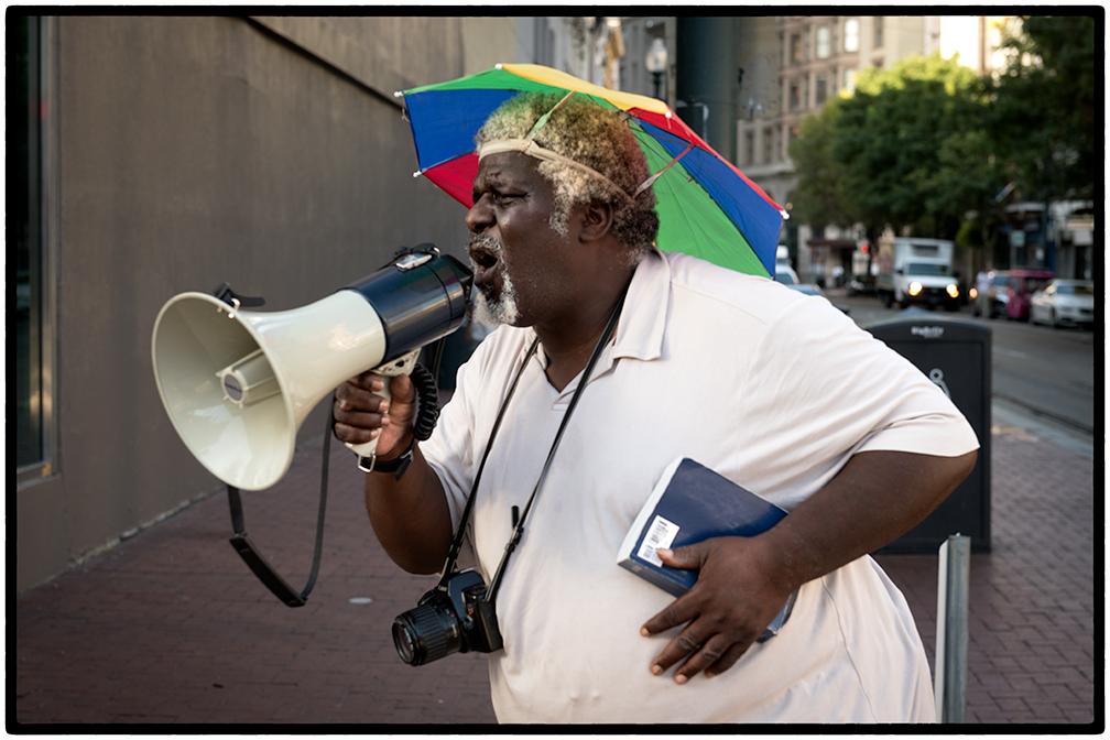 Street Preacher, Canal Street