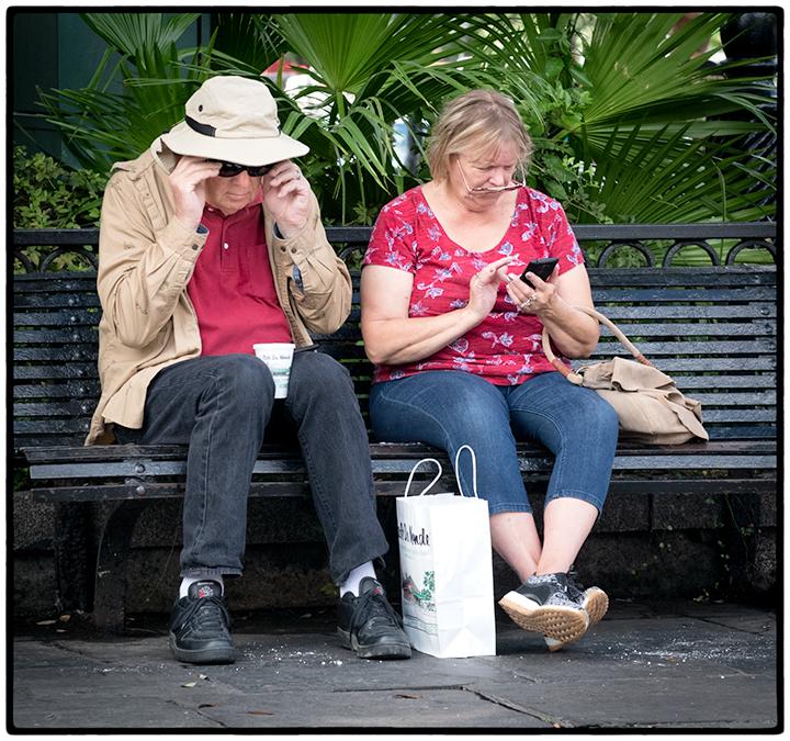 Tourists, French Quarter