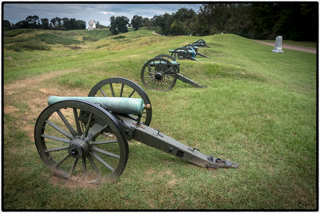Civil War Cannons, Vicksburg National Military Park