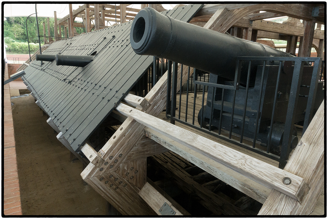The Cairo, a restored Union Ironclad, Vicksburg, Mississippi