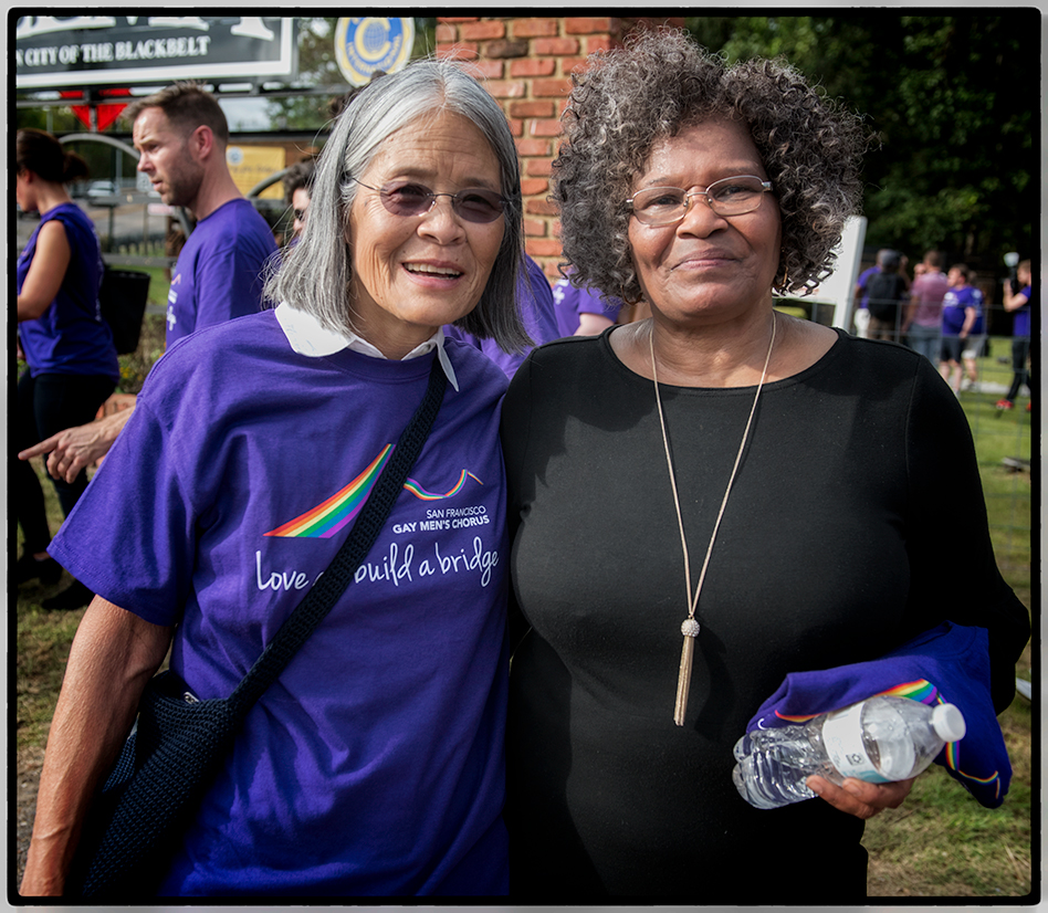 Jadyne and Linda Lowery
