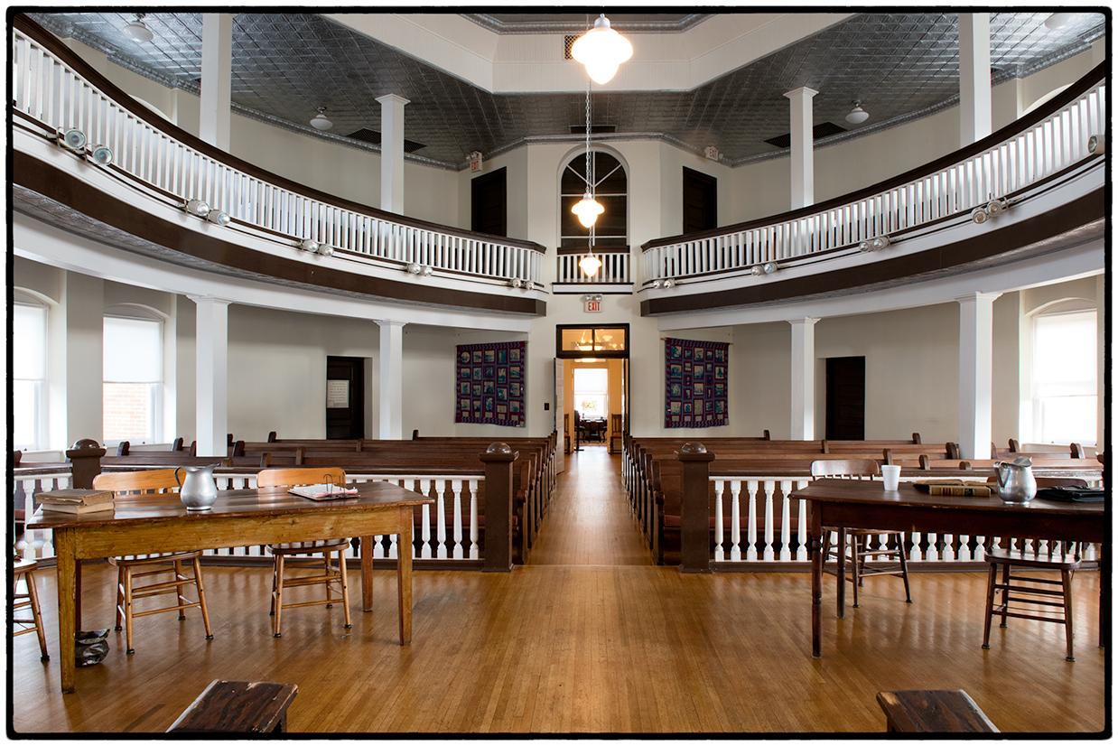 Courtroom, Monroeville, Alabama