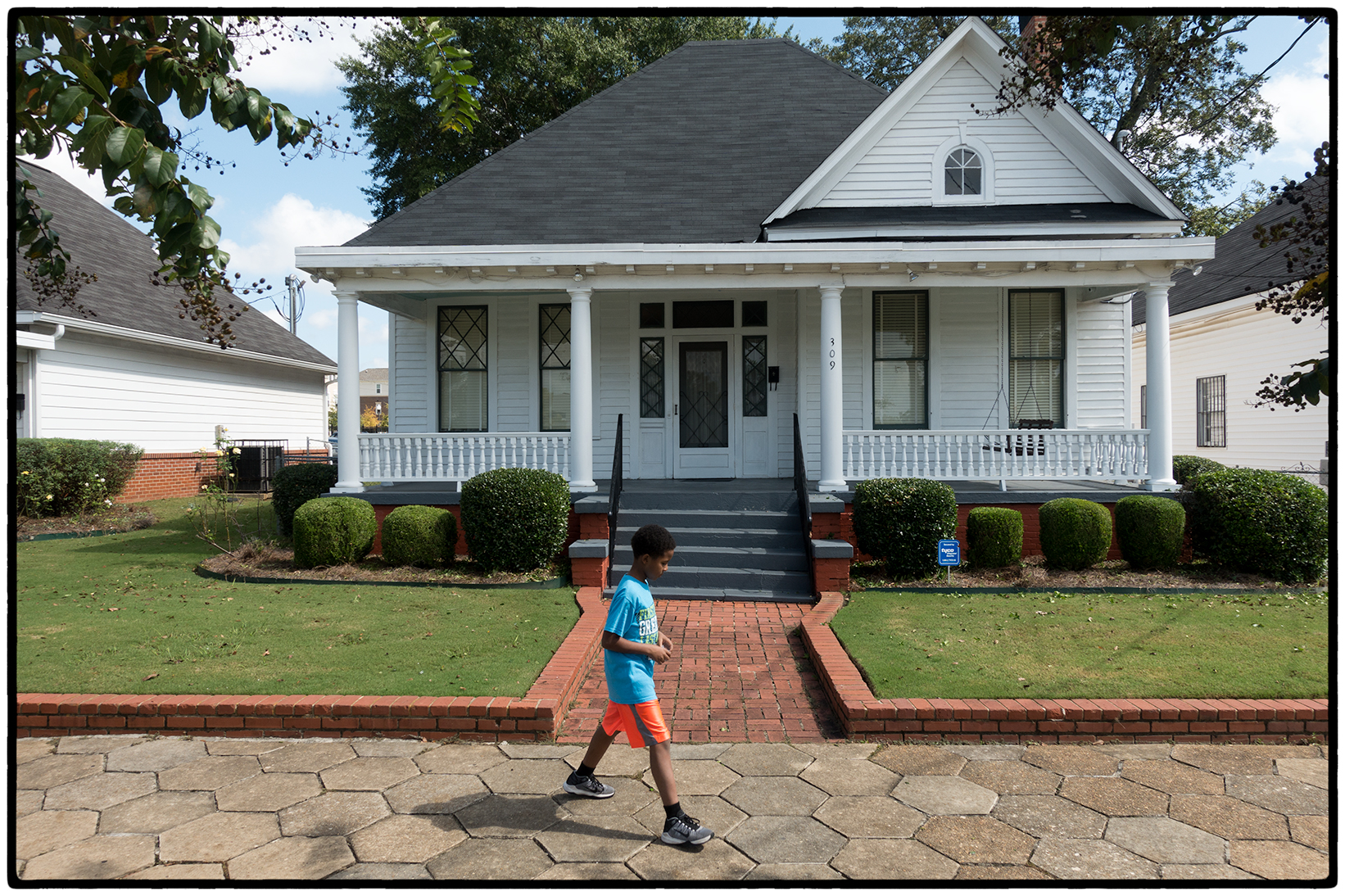 Martin Luther King's Home, Montgomery, Alabama