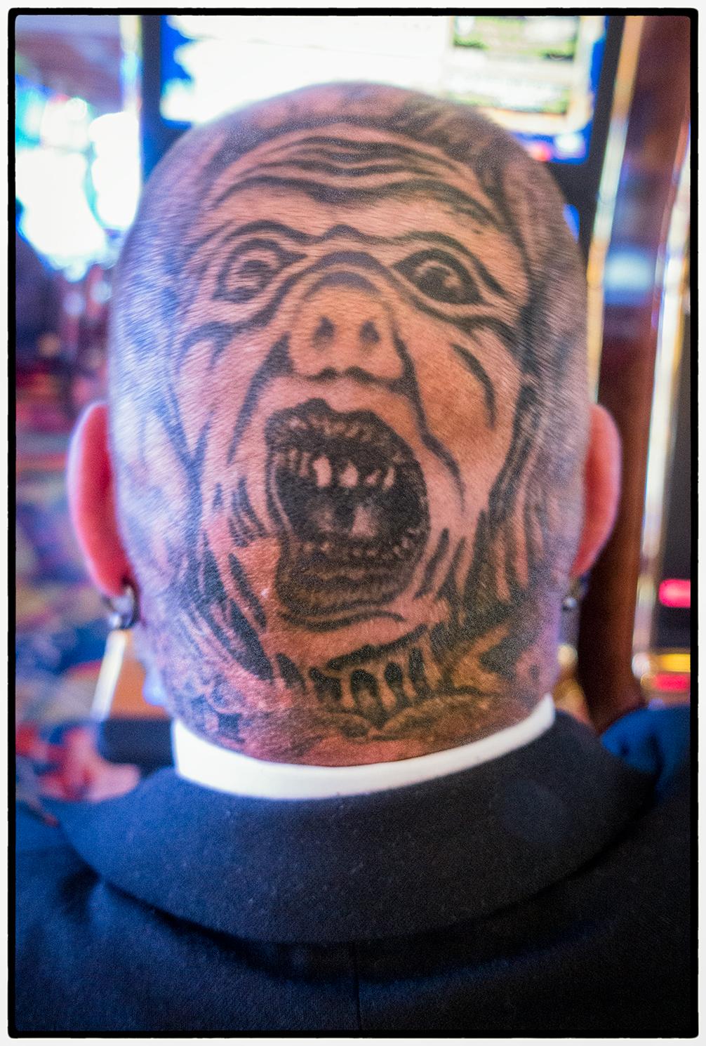 Tattooed Man, Biloxi, Mississippi