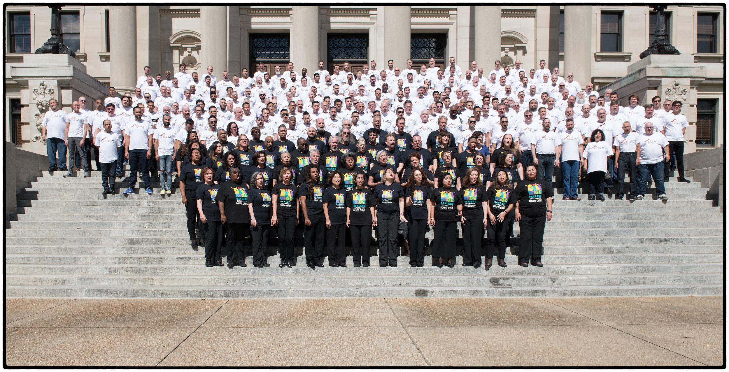SF Gay Men's Chorus with the Oakland Interfaith Gospel Choir, Jackson, Mississippi