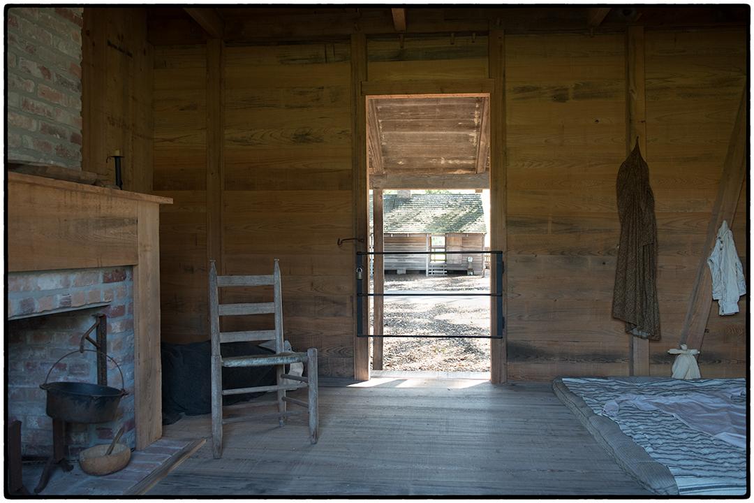 Master Bedroom for Slaves, Oak Alley Plantation