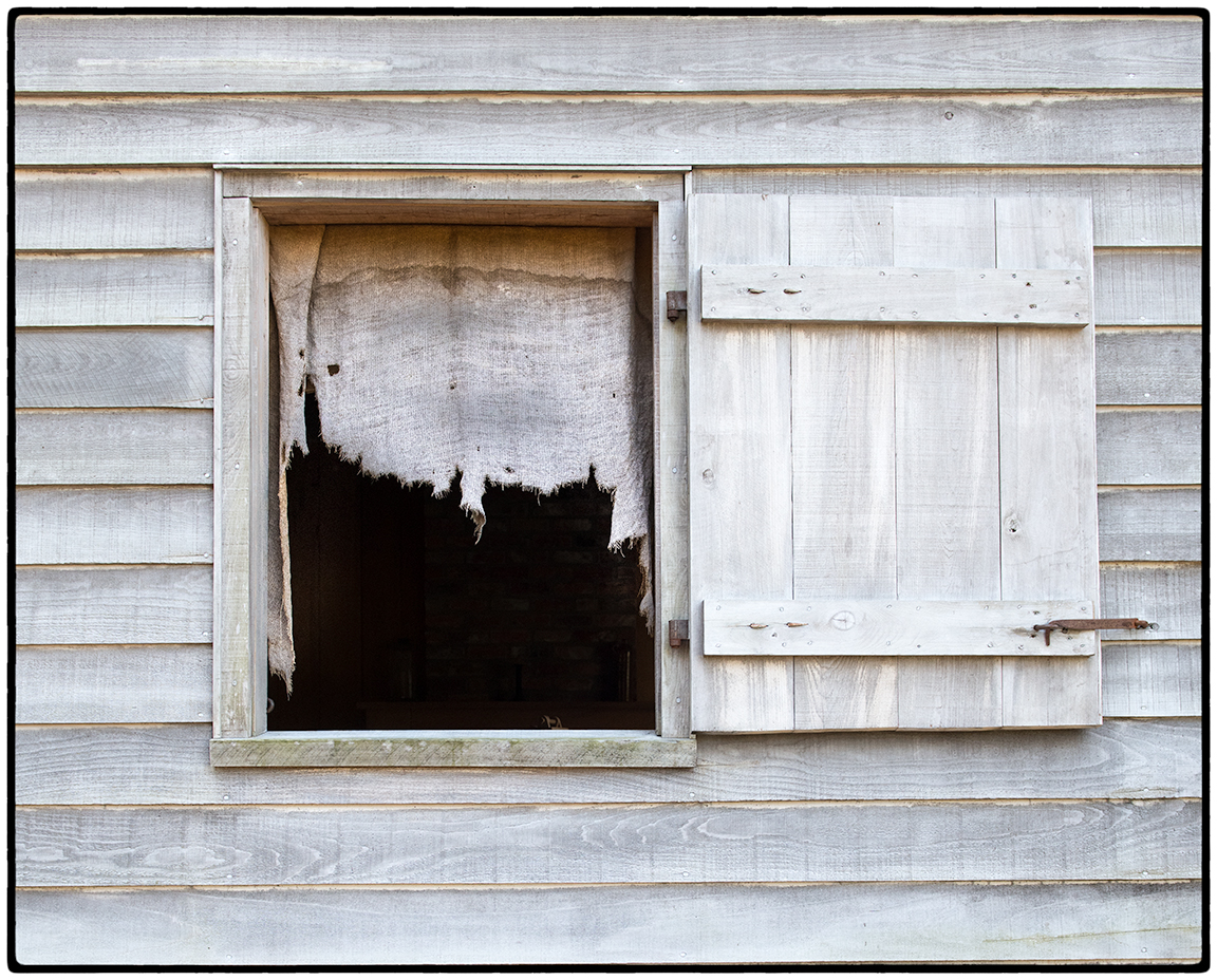 Curtain in Slave Quarters