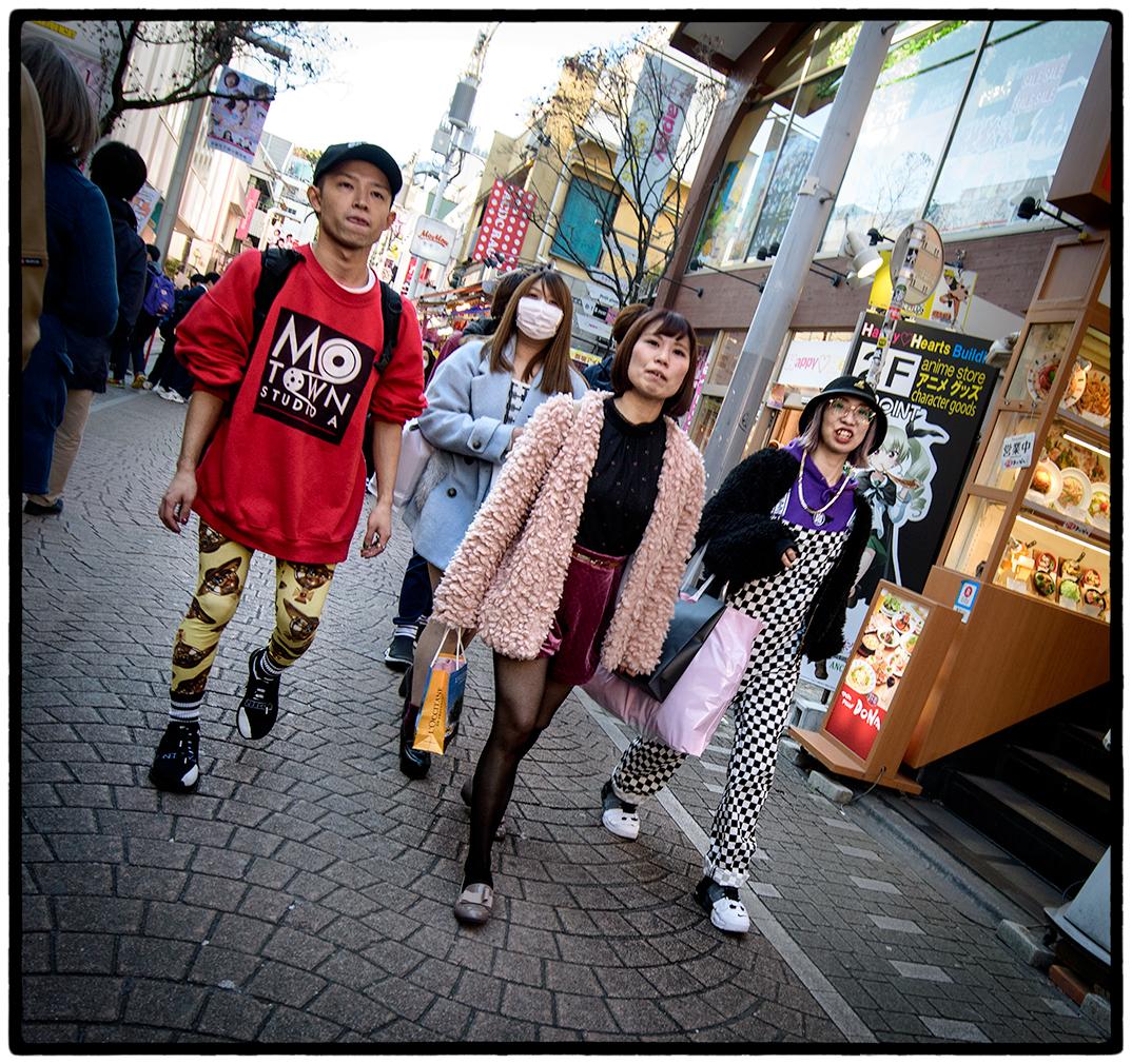Fashion Among Tokyo's Youth