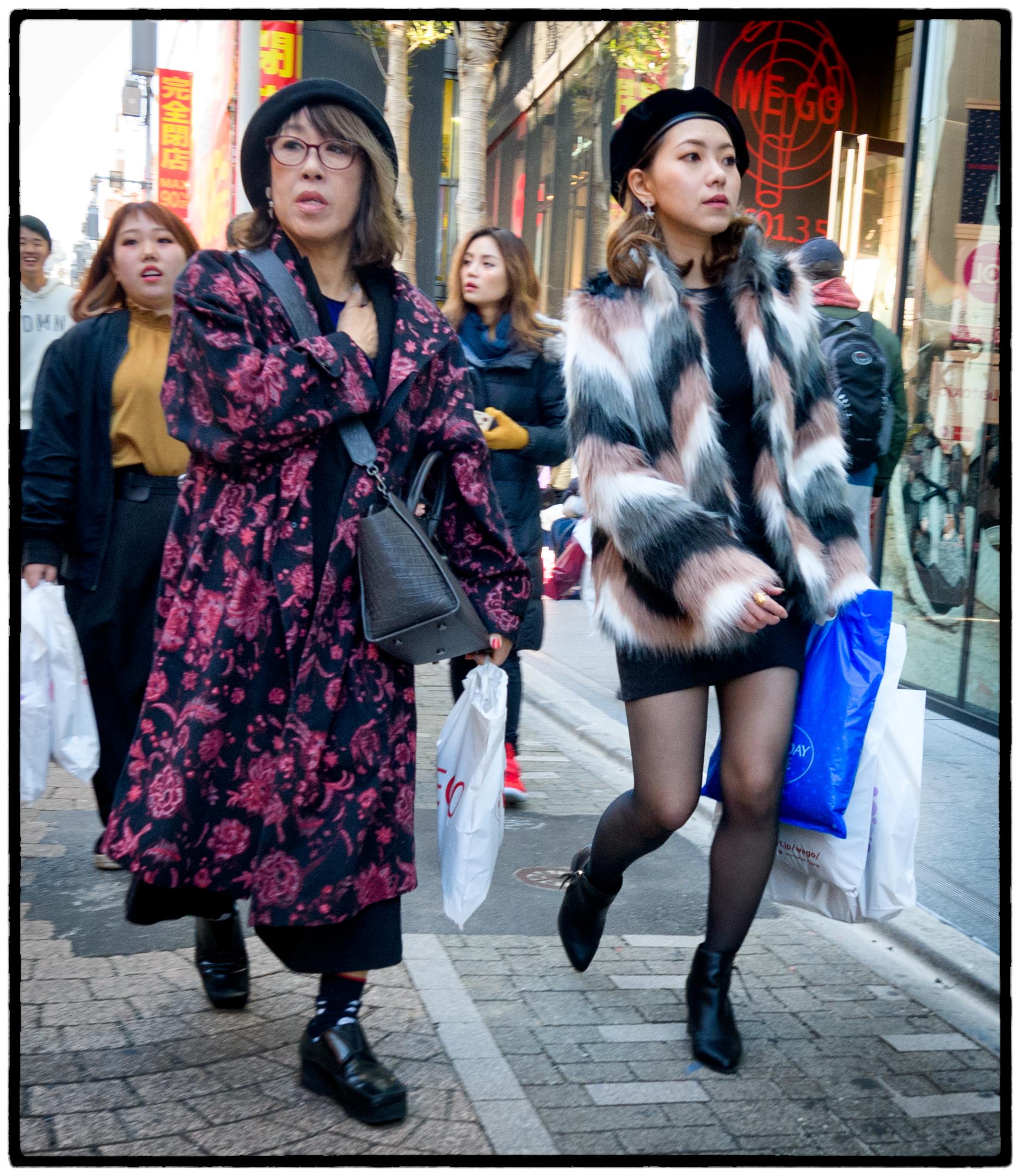 Shoppers, Tokyo