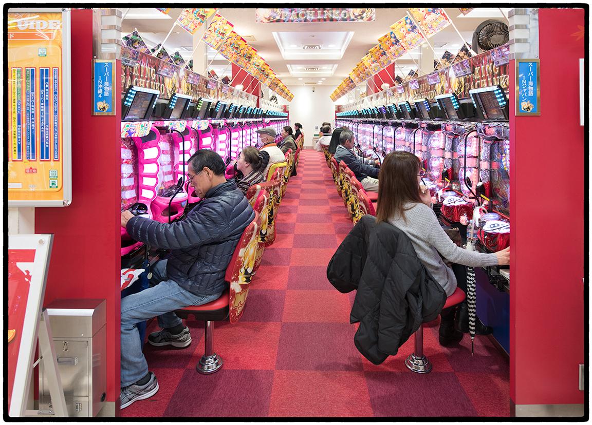 Pachingko Parlor. Kyoto