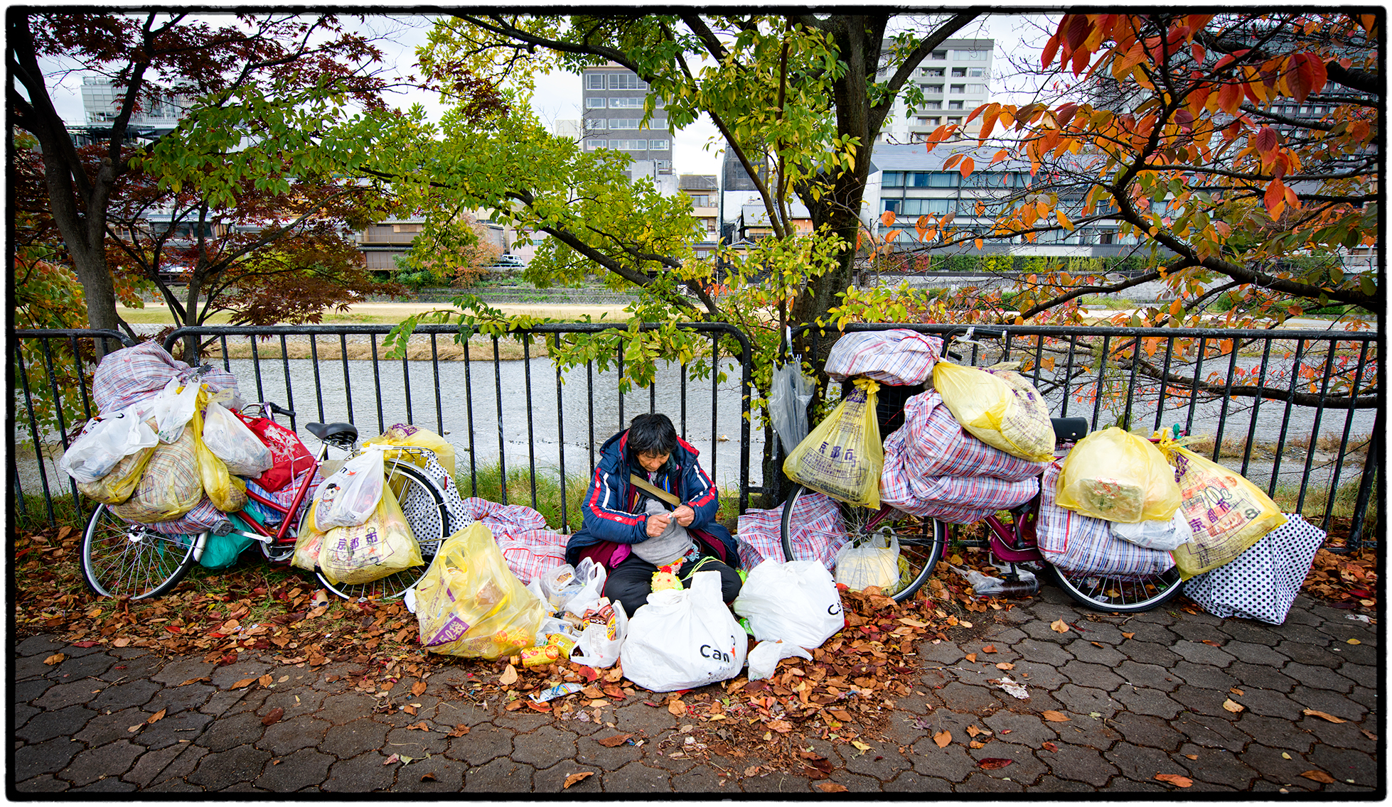 Homeless in Kyoto