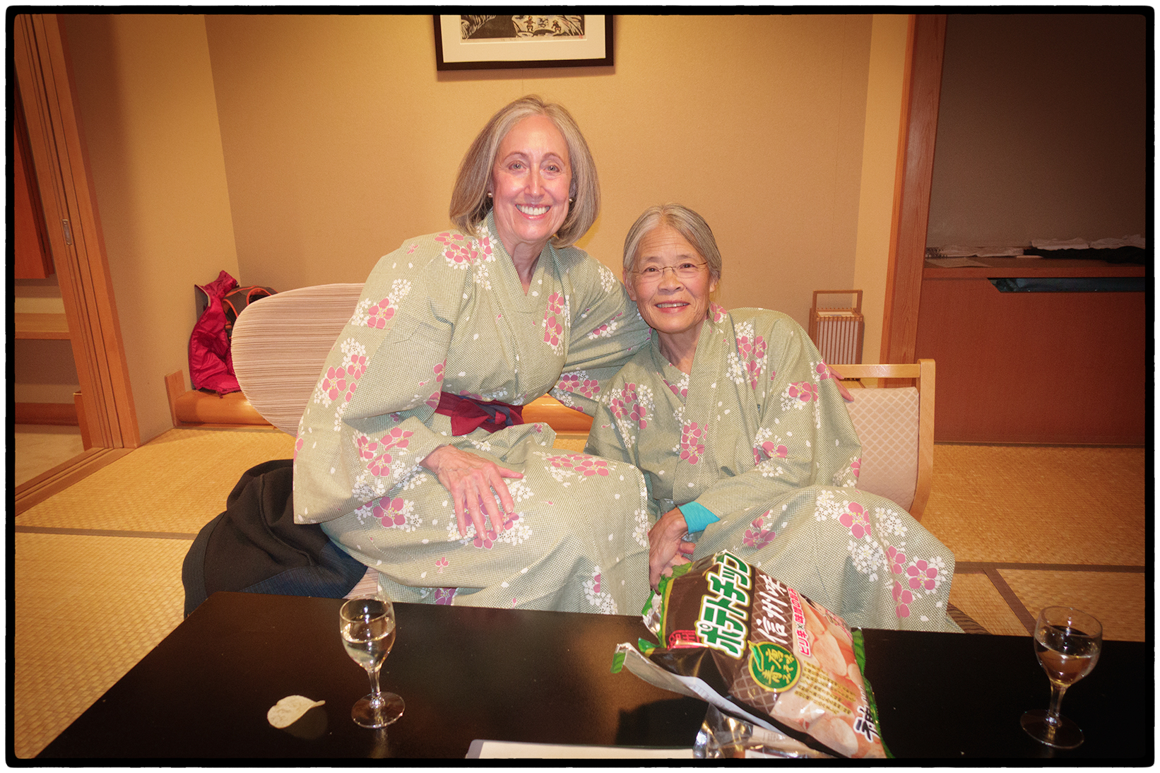 Gail and Jadyne in Yukatas