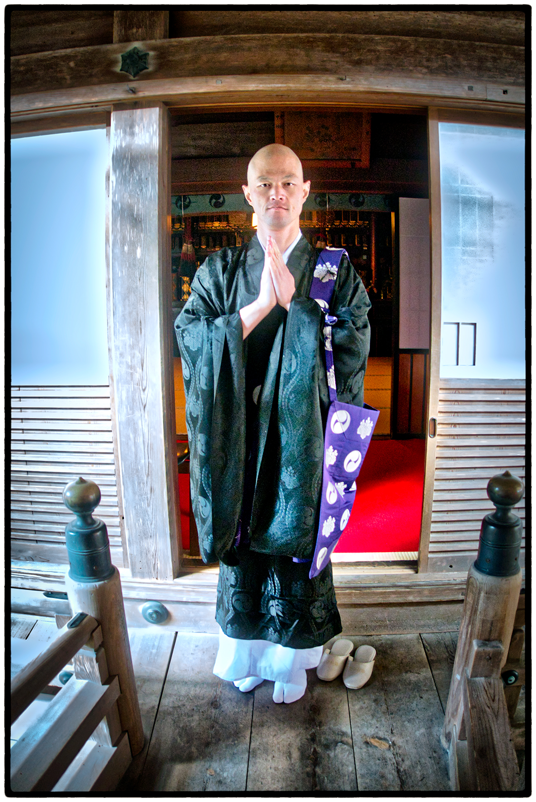Monk, Buddhist Monastery at Mount Koya