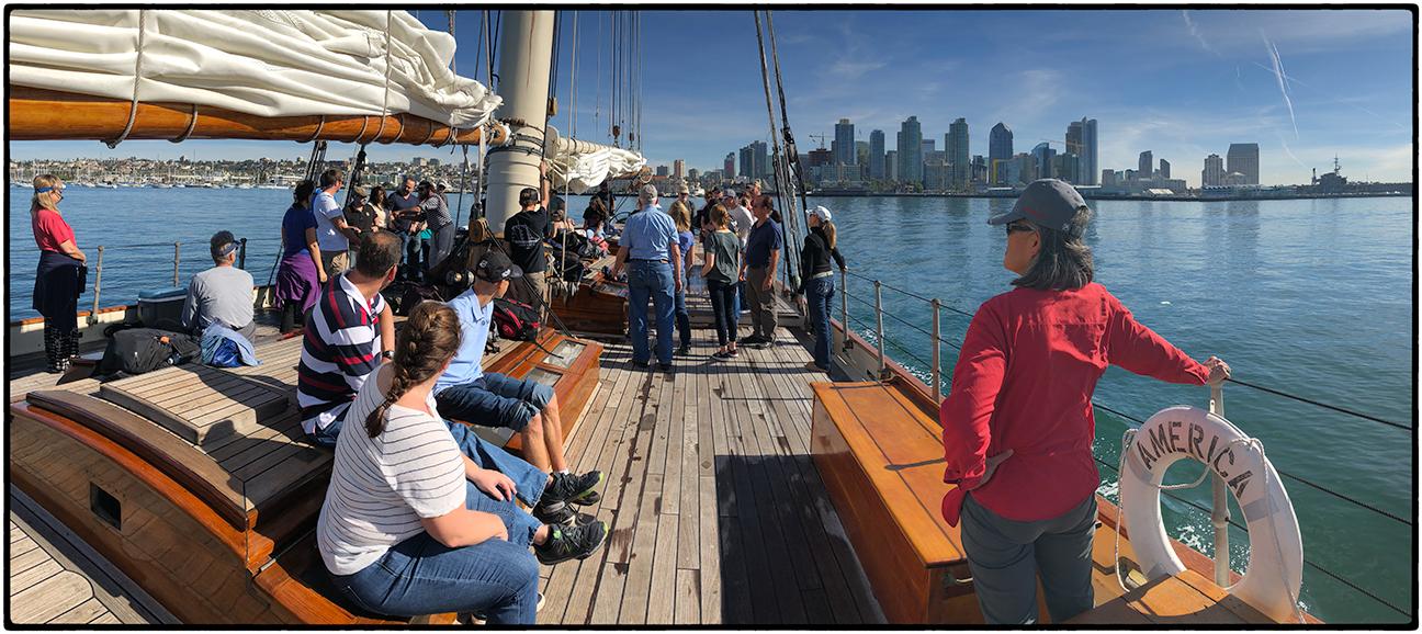 Setting Sail on the America