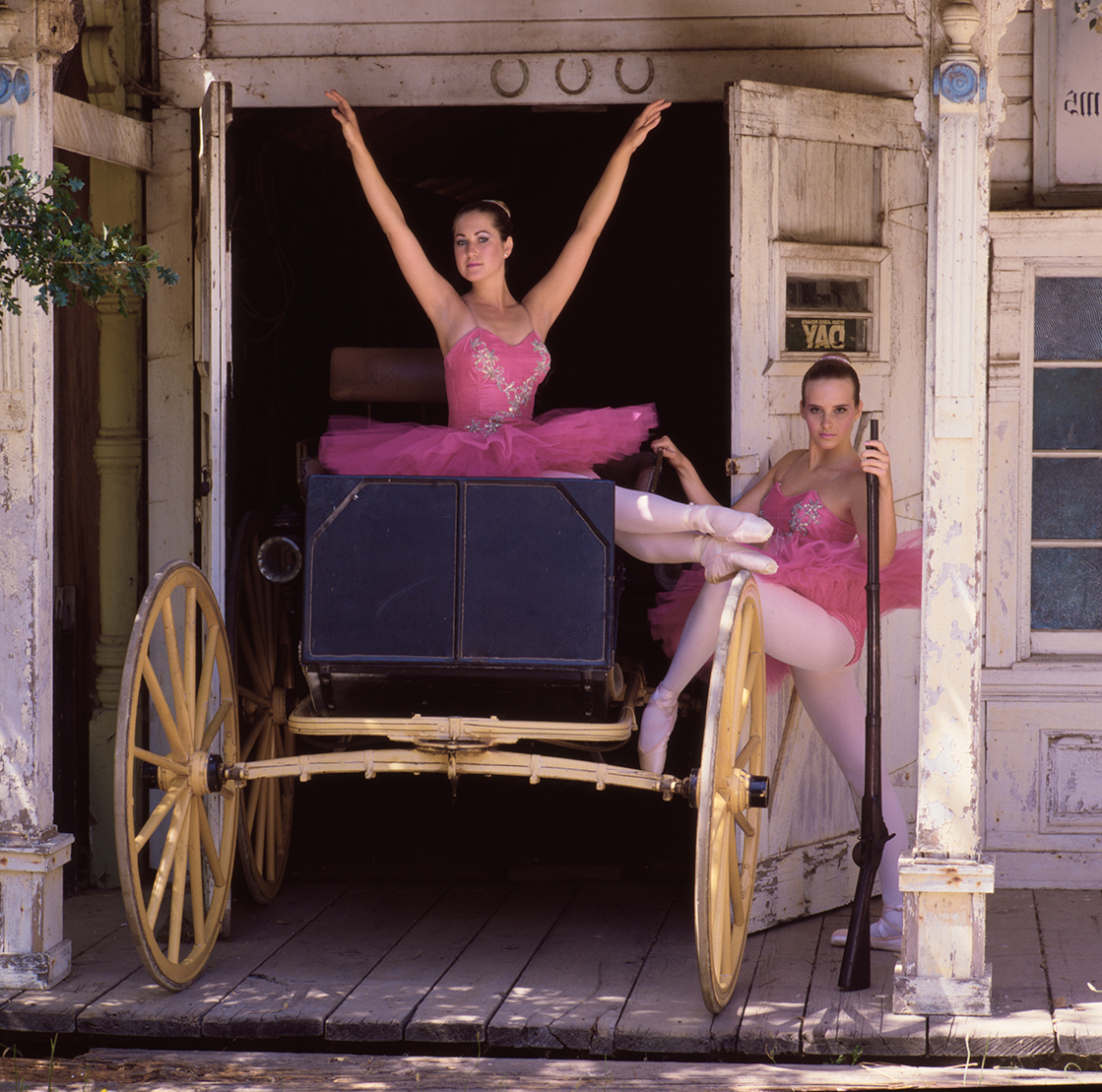 Not your traditional ballet image.