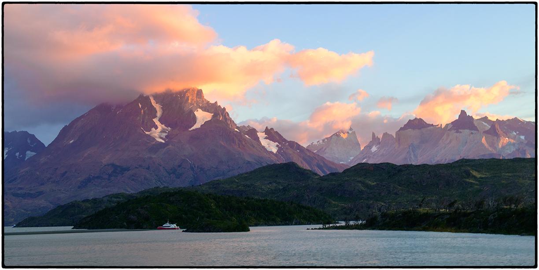 Sunrise, Gray Lake, Chile