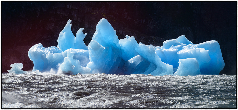 Glacial Ice, Gray Lake, Chile