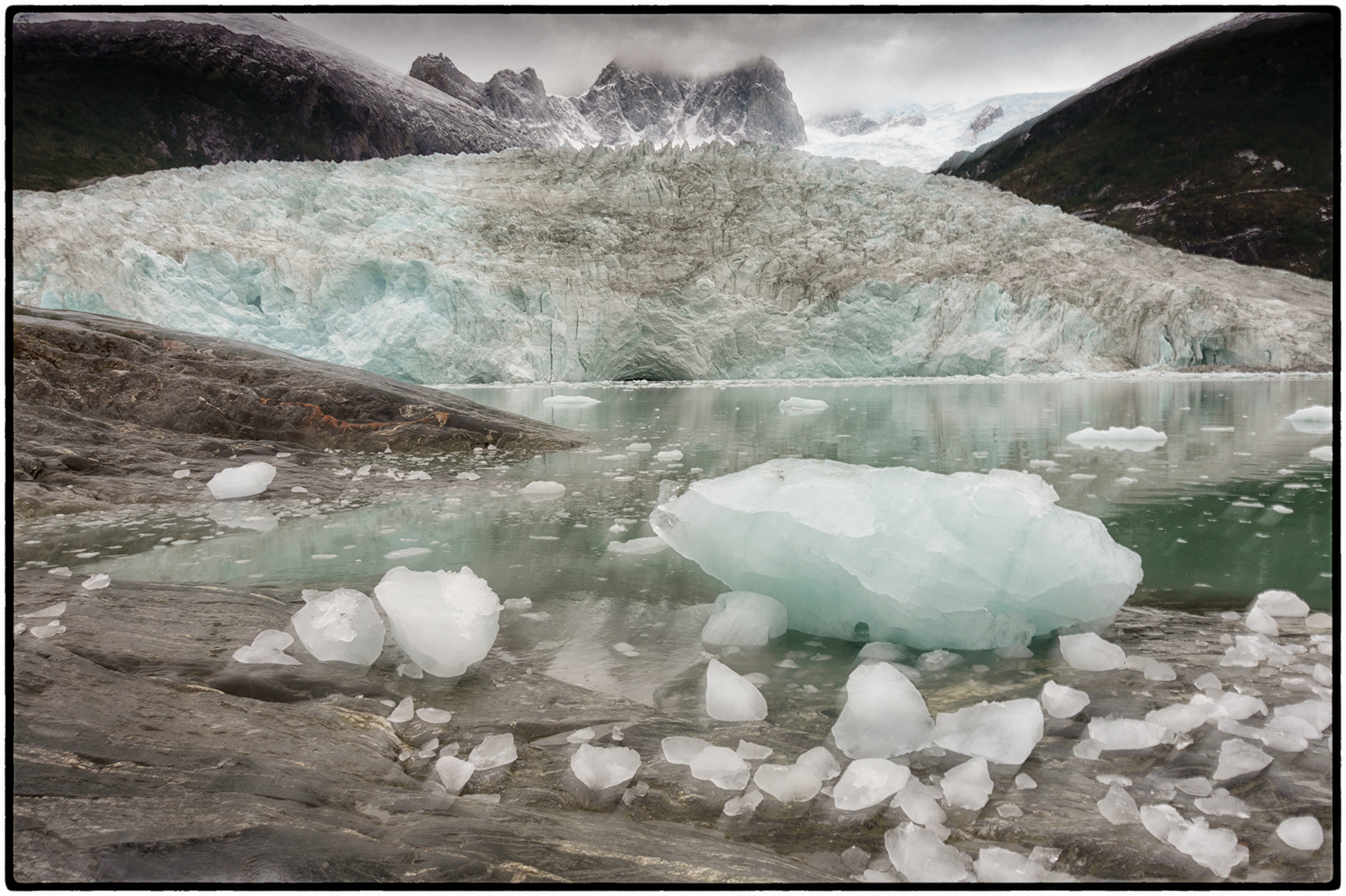 We stopped to hike at Five of the area's 690 glaciers.