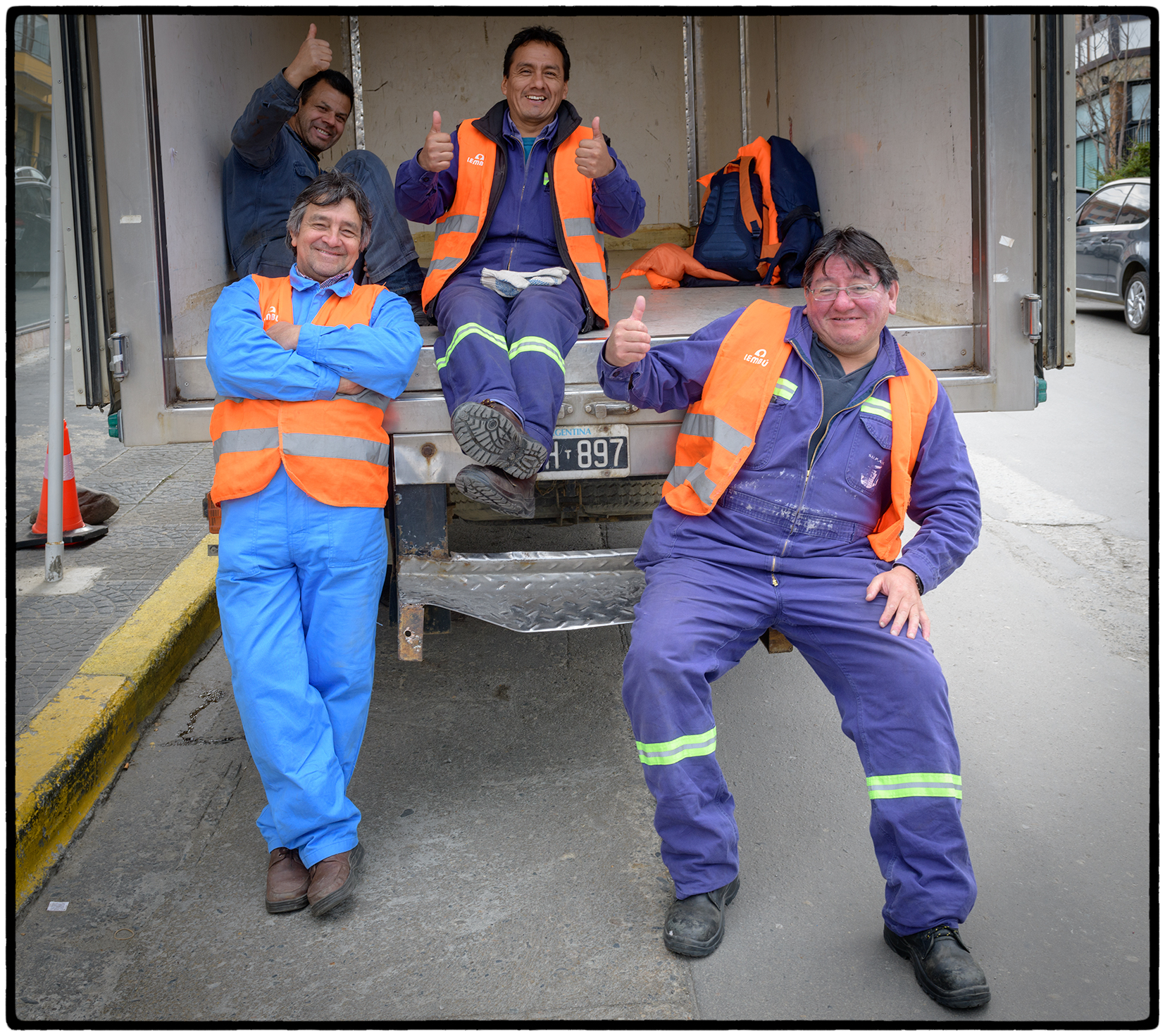 Workmen, Ushuaia