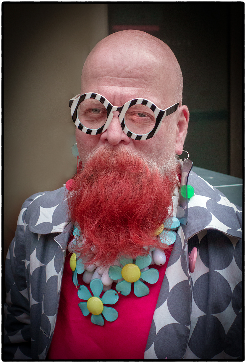 """Tim, a devoteé of Iris Apfel who said, """"""""When the fun goes out of dressing, you might as well be dead. You need to pursue your own fancy."""""""