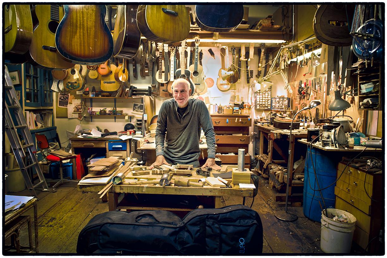 Stewart Port, Luthier, Oakland, CA