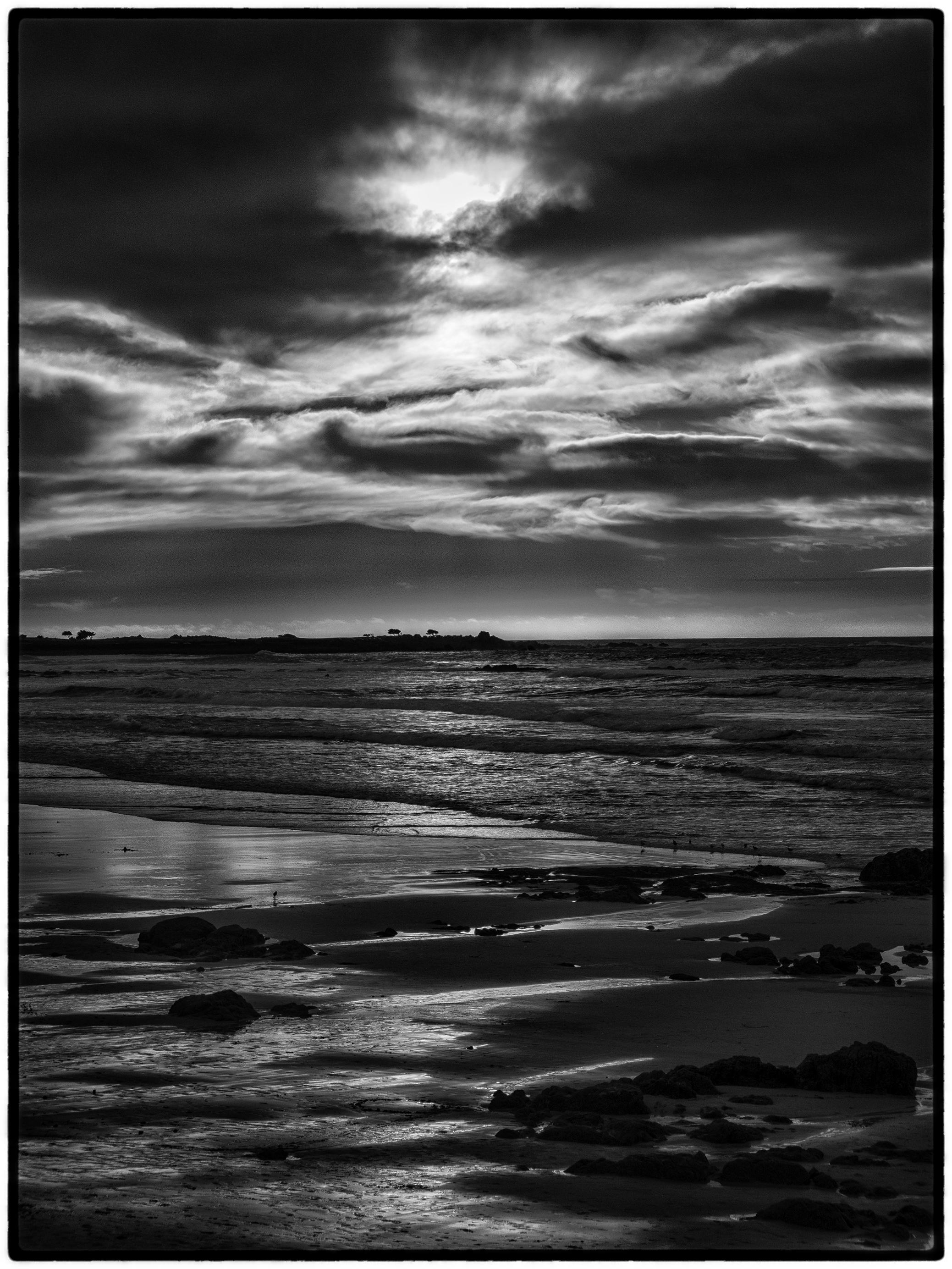 Near Sunset, Asilomar Beach