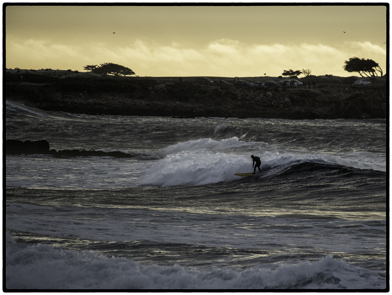Surfer, Asilomar Beach