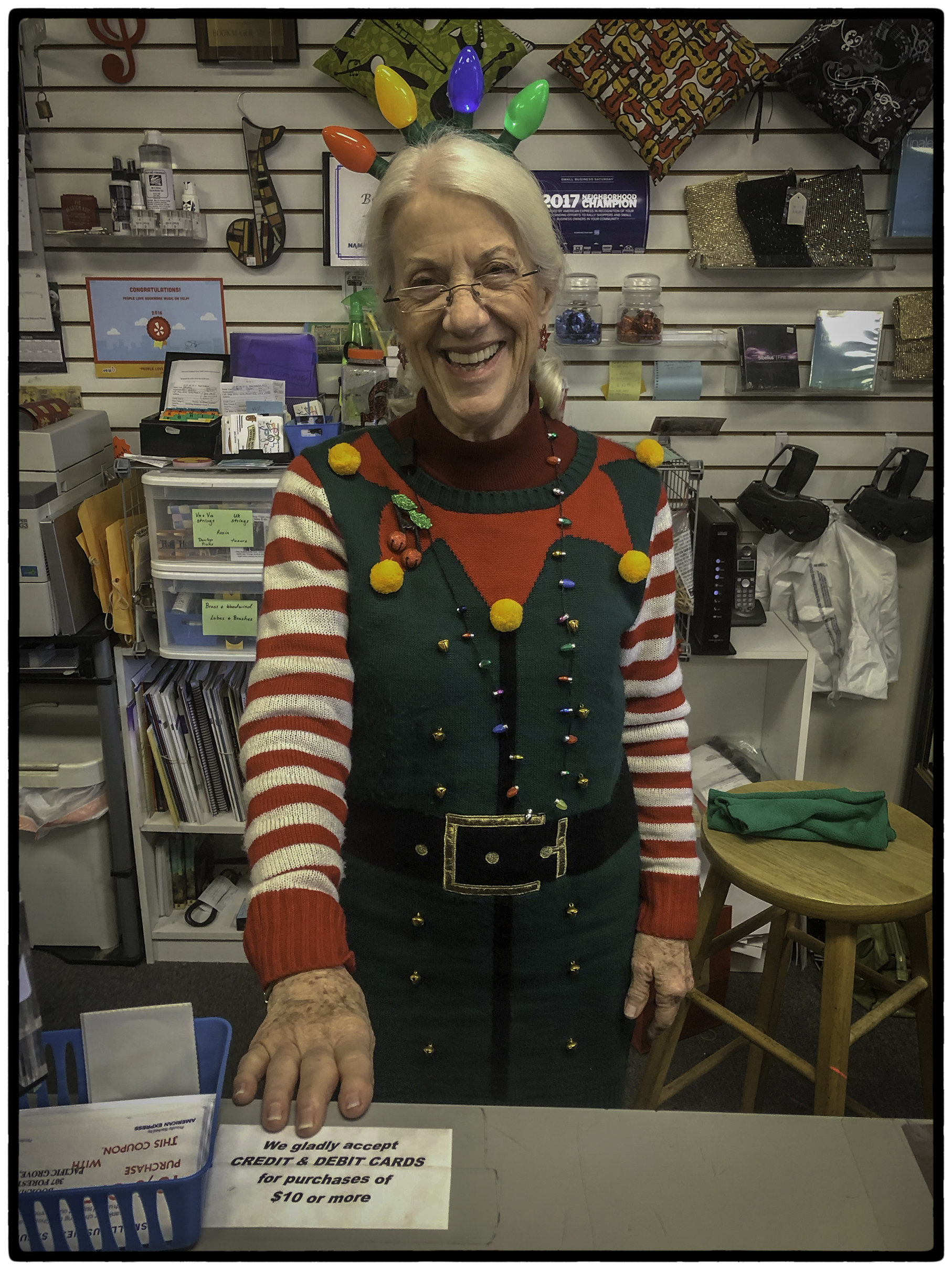 Saleslady, Pacific Grove Gift Shop