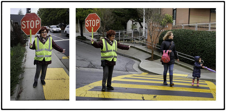 Agnes, Crossing Guard, Kensington