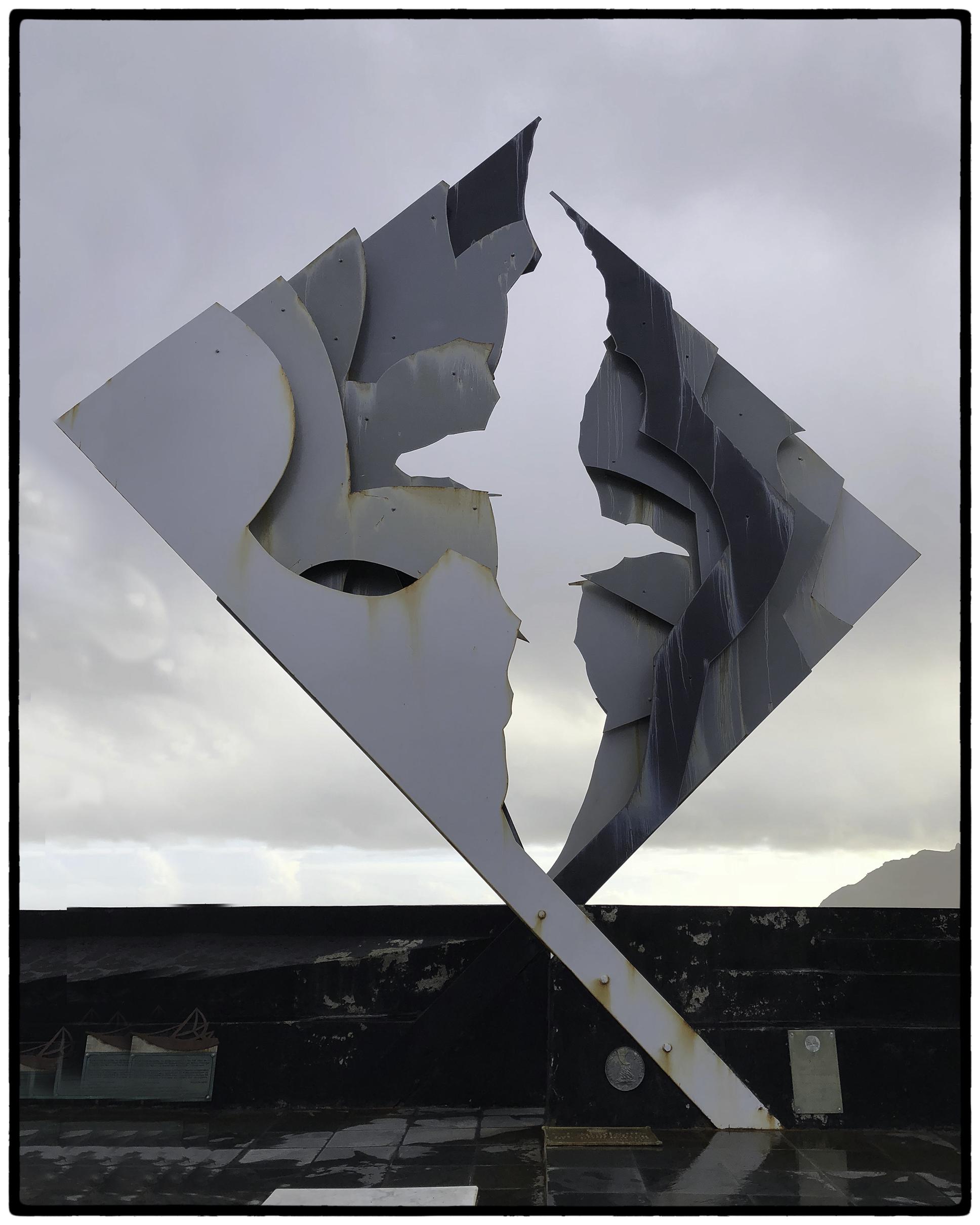 Cape Horn Sculpture of an Albatross