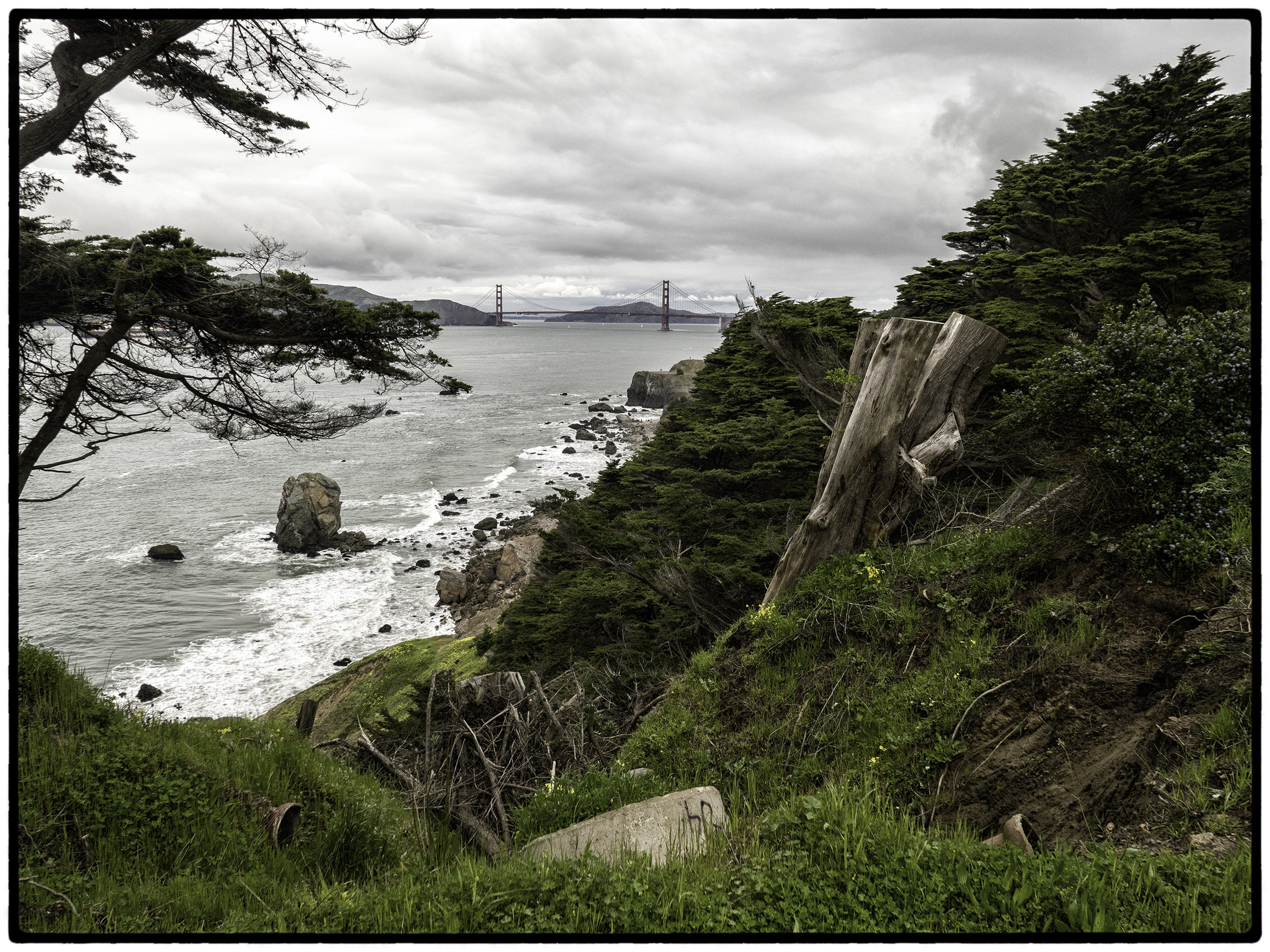 From Lands End Trail