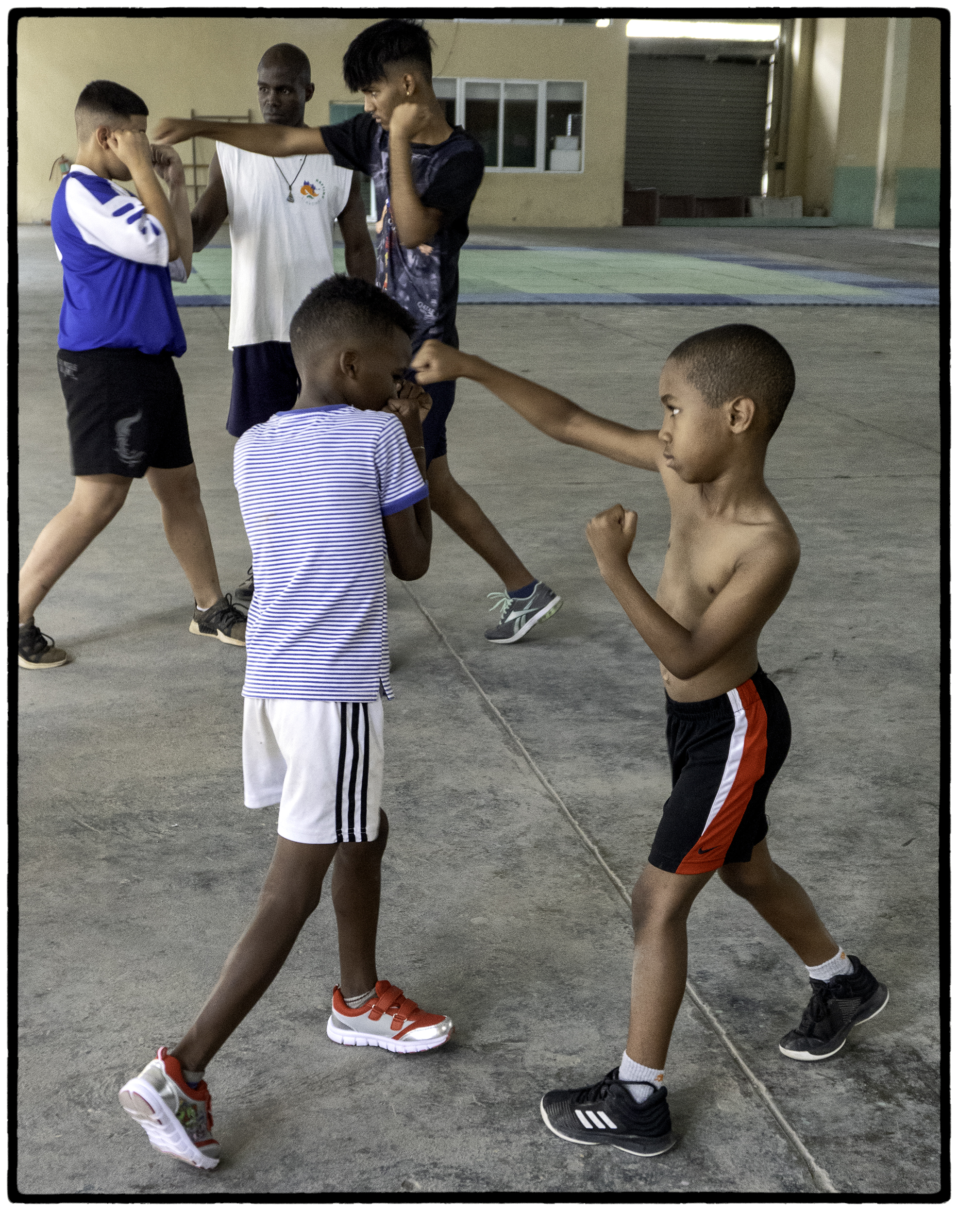Students, Boxing School, Central Havana