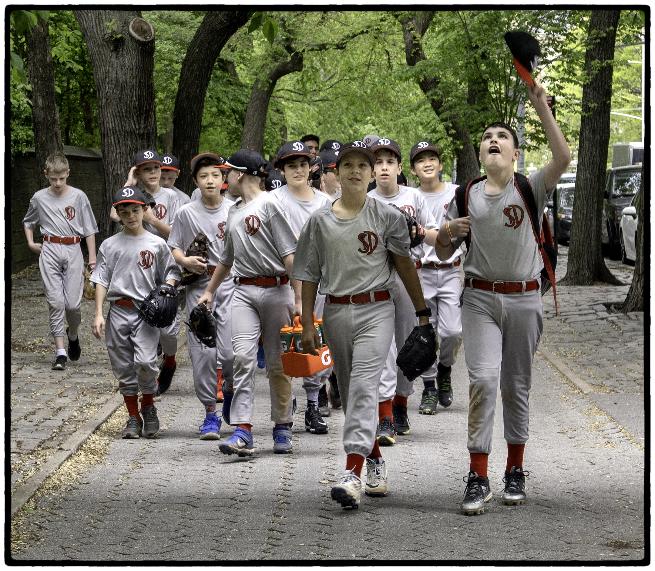 Baseball Team, Fifth Avenue