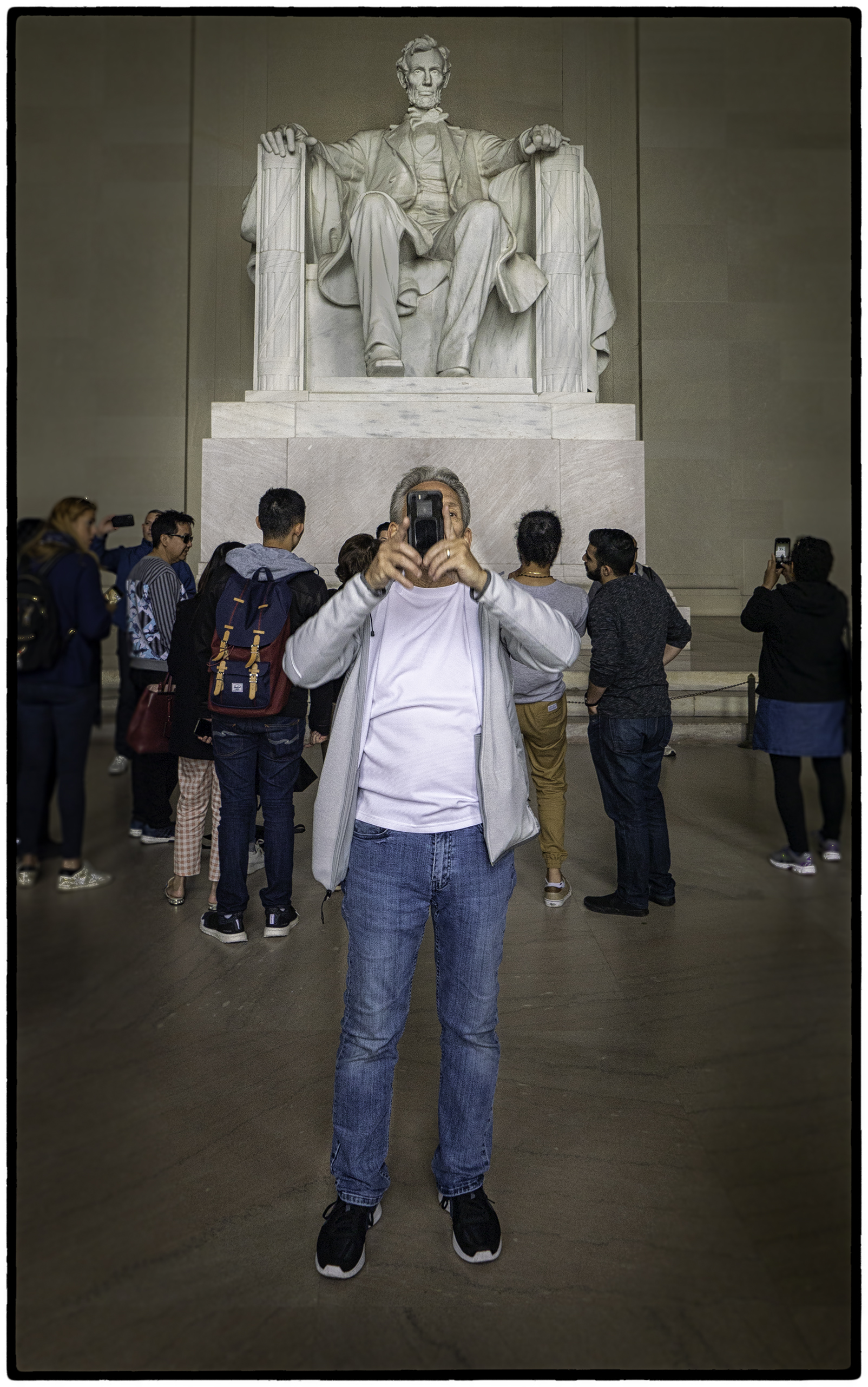The Lincoln Memorial 3