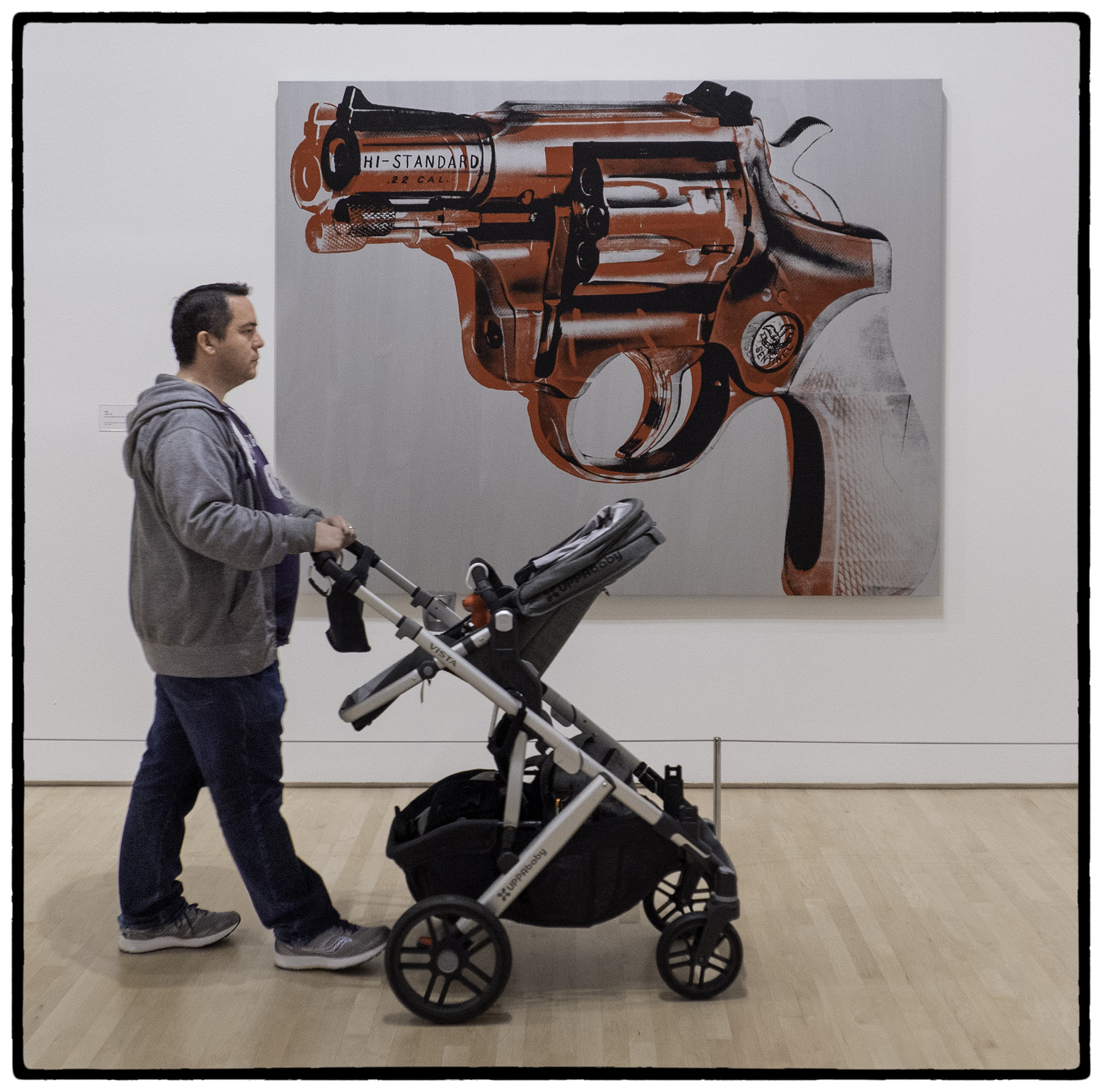Pistol and Baby, SF MOMA, Andy Warhol