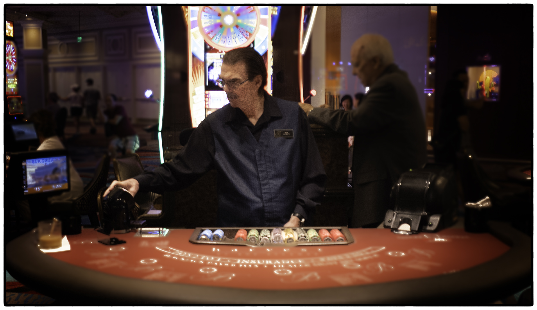 Blackjack Dealer, Bellagio