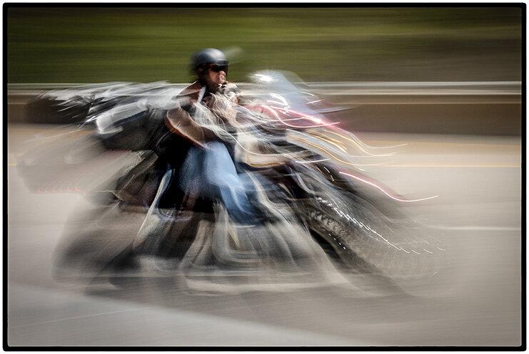 Motorcyclist, Glenwood Springs, Colorado